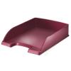 Leitz Irattálca, műanyag, LEITZ Style, gránátvörös (E52540028)