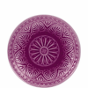 SUMATRA tányér 25cm lila