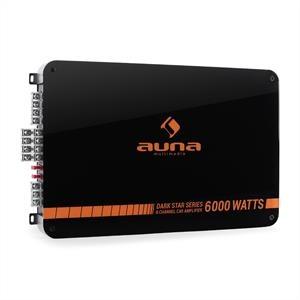 Auna Dark Star 6000, 6000 W, 6 csatornás végfokerősítő