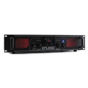 Skytec SPL 2000BTMP3,2000 W,hifi/PA erősítő,bluetooth,USB,SD