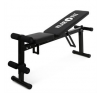 KLARFIT otthoni tornagép, pad, flexibilis, összecsukható fitness eszköz