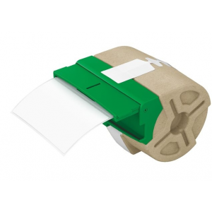 """Leitz Etikett, papír, öntapadó, 50x88 mm, 435 db, LEITZ """"Icon"""", fehér"""