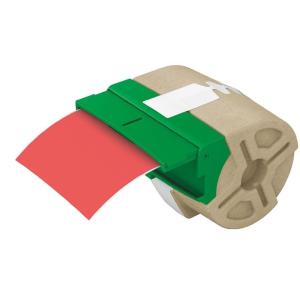 """Leitz Etikett, folyamatos, műanyag, öntapadó, 88 mm x 10 m, LEITZ """"Icon"""" piros"""