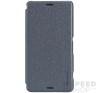 Nillkin Sparkle flip tok Sony Xperia Z3 Compact, fekete tok és táska
