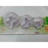 Süteményszaggató szett, pillangós, 3db-os (kicsi-közepes-nagy)