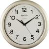 Secco Falióra, 30 cm,  SECCO Sweep Second,ezüst színű keret (DFA022)