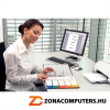 Regiszter, műanyag, A4 Maxi, 1-6, nyomtatható, ESSELTE, áttetsző (E100212)