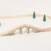 Bigjigs háromlyukú híd