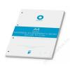 BOXER Gyűrűs könyv betét, A4, vonalas, 50 lap, BOXER, fehér (BOXGYB4V)