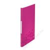 Leitz Bemutatómappa, 40 zsebes, A4, LEITZ Wow, rózsaszín (E46320023)