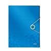Esselte Kft. LEITZ WOW JUMBO gumis mappa, PP, kék