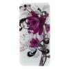 utángyártott Telefonvédő gumi / szilikon (lótuszvirág minta) FEHÉR [Apple iPhone 6 4.7``]