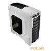 "Aerocool GT-A Window White White,3x5,25"",3x3,5"",ATX,2xFan Controller,2xUsb,Audio,Táp nélkül,485x185x475mm,3x2,5"",Ventillátor:2x12cm,1xUSB3.0"
