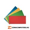 Elválasztócsík, karton, ESSELTE, zöld (E20997)