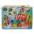 fajáték Mágneses horgász fa puzzle, halas