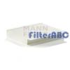 MANN FILTER CU2680 pollenszűrő