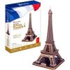 CubicFun Eiffel-torony 3D puzzle, 82 db-os