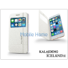 Kalaideng Apple iPhone 6 Plus flipes tok - Kalaideng Iceland 2 Series View Cover - white