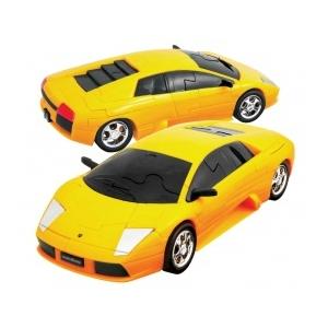 3D Puzzle - Lamborghini Murciélago -sárga