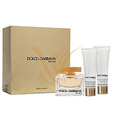 Dolce&Gabbana The One Szett 75+50+50 kozmetikai ajándékcsomag