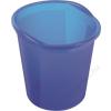 HELIT Szemetes, 13 liter, HELIT Economy, áttetsző kék (INH2360230)