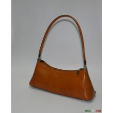 Barna kisméretű egyvállas táska