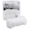 Sex Extra - fehér bondage kötél (10m)