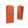 Haffner Slim Flexi Flip bőrtok - Apple iPhone 6 - narancs