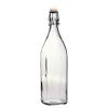 Bormioli Rocco 02830 Csatos üveg 1 l szögletes