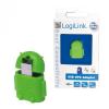 LogiLink LogiLink USB micro USB OTG adapter zöld