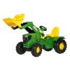 Rolly Toys Rolly FarmTrac John Deere 6210R pedálos markolós traktor