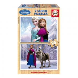 Educa Disney Jégvarázs puzzle, 2x25 darabos