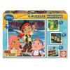 Educa Disney Jake a kalóz puzzle, 4 az 1-ben