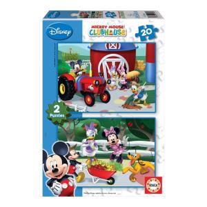 Educa Disney Mickey egér puzzle, 2x20 darabos