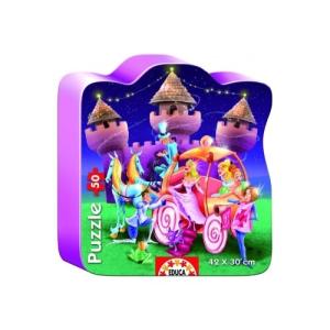 Educa Hercegnő kastély puzzle, 50 darabos