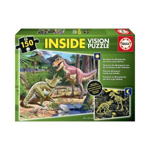 Educa Dinoszauruszok puzzle, 150 darabos
