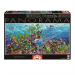Educa Víz alatti világ panoráma puzzle, 3000 darabos