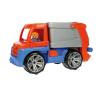 LENA Játék kukásautó figurával autópálya és játékautó