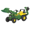 Rolly Toys Rolly Junior John Deere pedálos markolós traktor exkavátorral