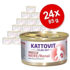 Kattovit Niere/Renal 24 x 85 g - 12 x bárány &12 x csirke
