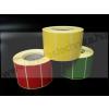 50×25 mm PIROS / matt papír színes tekercses címke