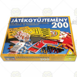 Piatnik Játékgyűjtemény 200 darabos
