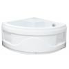 Sanotechnik íves zuhanytálca Cikkszám: T25w