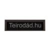 Teirodád.hu BAL-Kaspian SFW1W140 vitrines fali szekrény