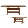 Teirodád.hu BAL-Kent ELAST130-170 állítható méretű dohányzóasztal