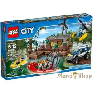 LEGO City Bűnözők Búvóhelye 60068