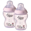 Tommee Tippee Decorat PP cumisüveg, 2 db, 260 ml  (5010415225214)