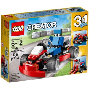 LEGO Creator Piros Go-Kart 31030