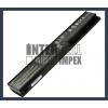 X301U series 4400 mAh 6 cella fekete notebook/laptop akku/akkumulátor utángyártott