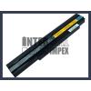 K26 series 4400 mAh 6 cella fekete notebook/laptop akku/akkumulátor utángyártott